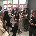 Picture of SCBWI Metro NY members at the Metro Mixer event on September 26, 2017