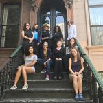 Picture of SCBWI NY Metro members at Langston Hughes House