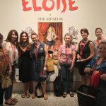Picture of SCBWI NY Metro members visiting the Eloise exhibit on August 20, 2017